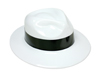 WP40FPI - White  Plastic Gangster Hats