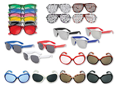 WP476A - Sunglasses Assortment For Adults