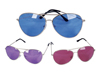 WP754 - Colored Aviator Sunglasses