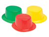 WP860 - Colorful Plastic Top Hats