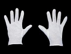 WP88 - White Gloves