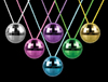 WP90 - Disco Ball Necklaces