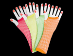 WP987 - Assorted Long Fishnet Gloves